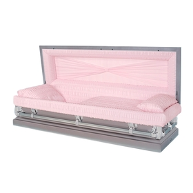 Orchid 20-gauge aries steel casket