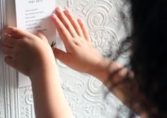 Petites mains et signet